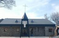 등용 성당 성전, 교육관 축복식 미사