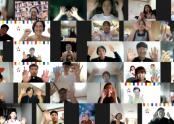 온라인으로 특강에 참여한 수강자들