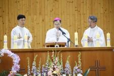 성심여중고 주보축일 미사 및 근속교직원 표창식